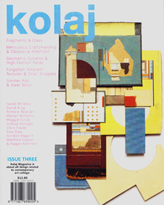 >Kolaj,  Issue # 3